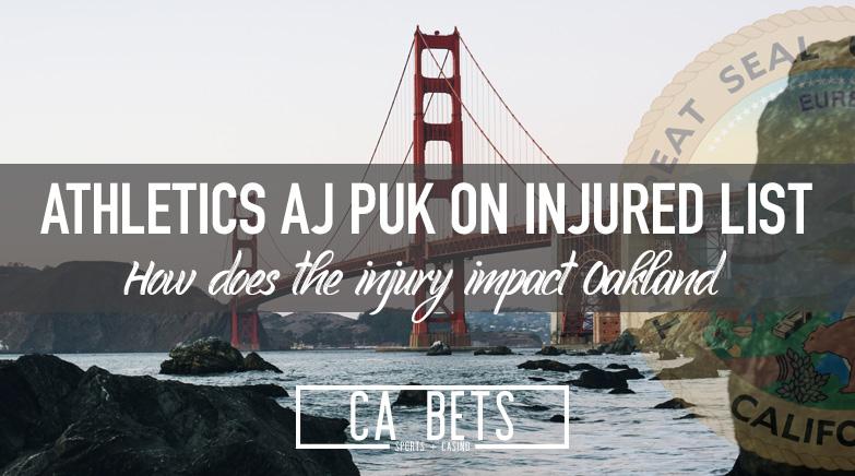 Athletics A.J. Puk Will Start Season on Injured List