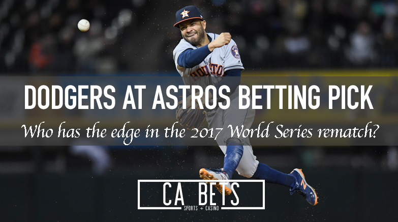 Los Angeles Dodgers @ Houston Astros Betting Pick