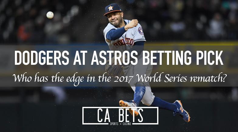 Los Angeles Dodgers @ Houston Astros Betting Pick