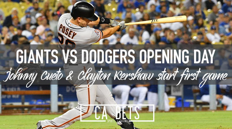 Starting Pitchers Named in Giants/Dodgers Opening Day Matchup