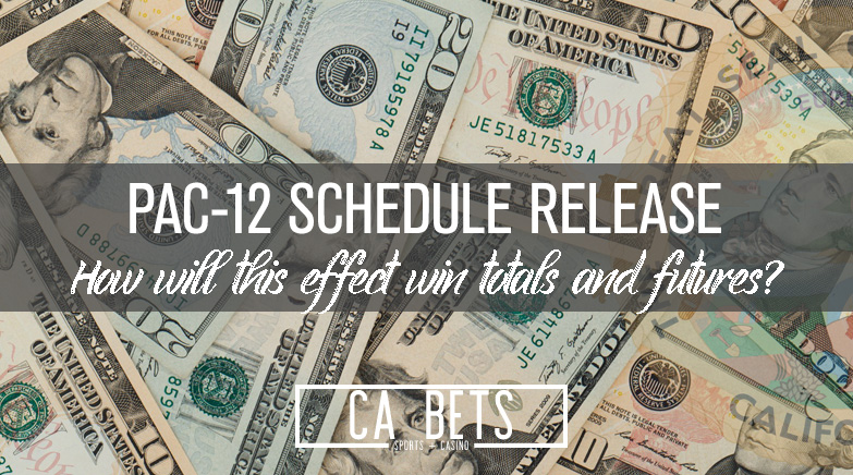 Pac-12 Football Schedule Released; Betting Bananza to Follow