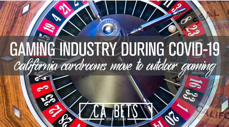 Outdoor Card Rooms? How the California Gaming Industry is Changing due to COVID-19