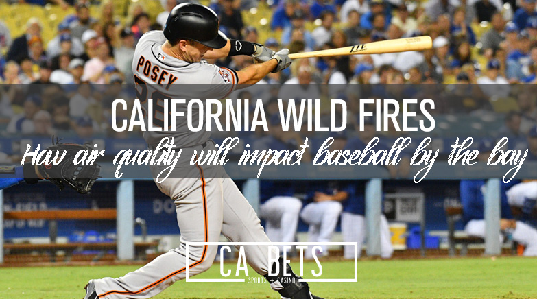 How California Wildfires are Affecting the A's, Giants Games