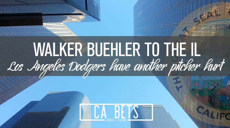 Los Angeles Dodgers Walker Buehler Heads to the IL