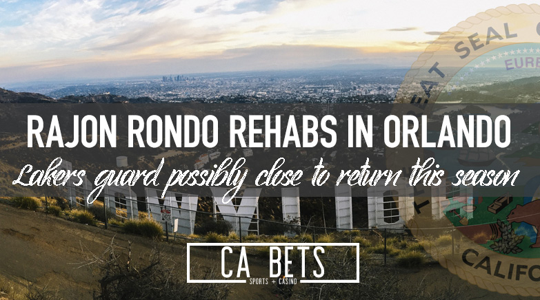 Los Angeles Lakers Rajon Rondo Rehabs in Florida