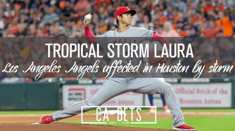 Los Angeles Angels Affect by Tropical Storm; How Does this Affect the Odds?