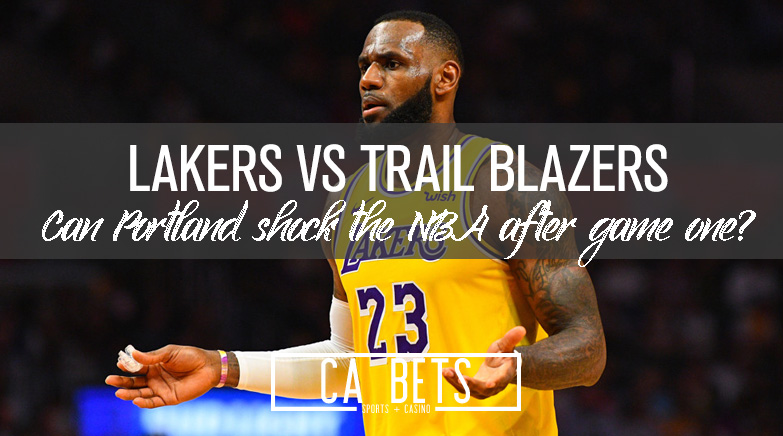 Blazers Knock off the Lakers in Game 1; How Does this Effect the Series?