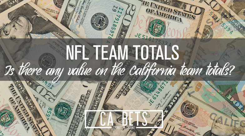 Week 1 NFL is here! Is there any value on win totals in California?