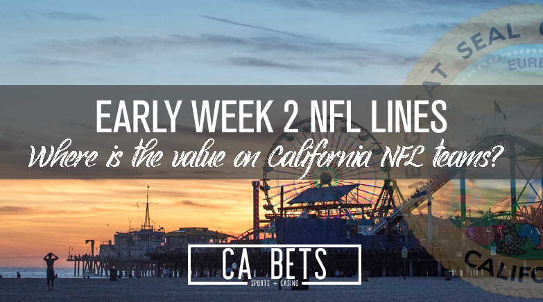Any Early Value in Week 2 NFL Lines?