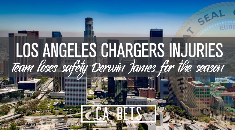 Los Angeles Chargers Safety Derwin James Out for Season