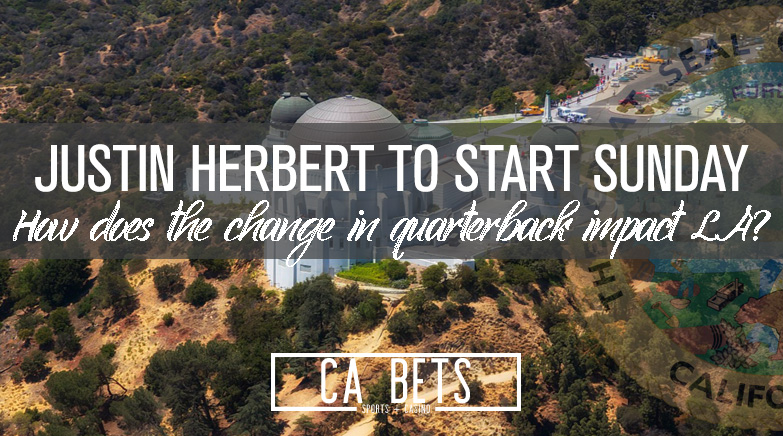 Justin Herbert to Start against Carolina
