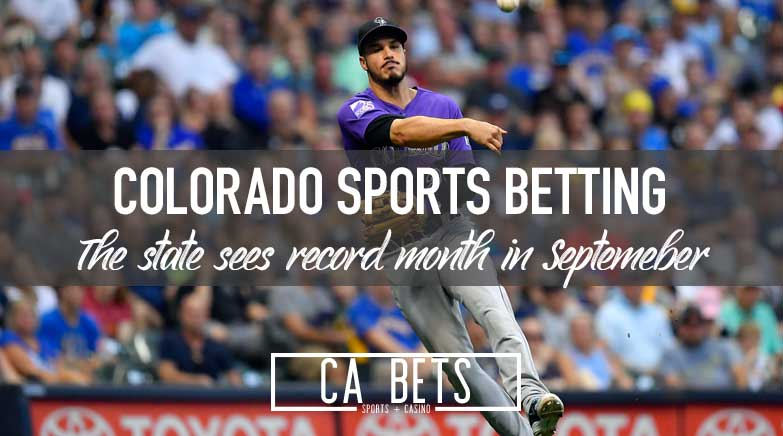 Colorado Sports Betting Sees Record Month in September