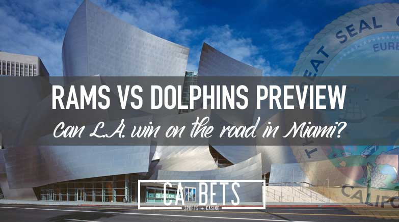 Los Angeles Rams vs. Miami Dolphins: Do You Back the Rams on a Short Week?