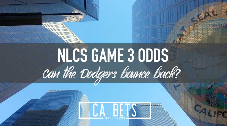 NLCS Game 3 Odds; Can the Dodgers Bounce Back