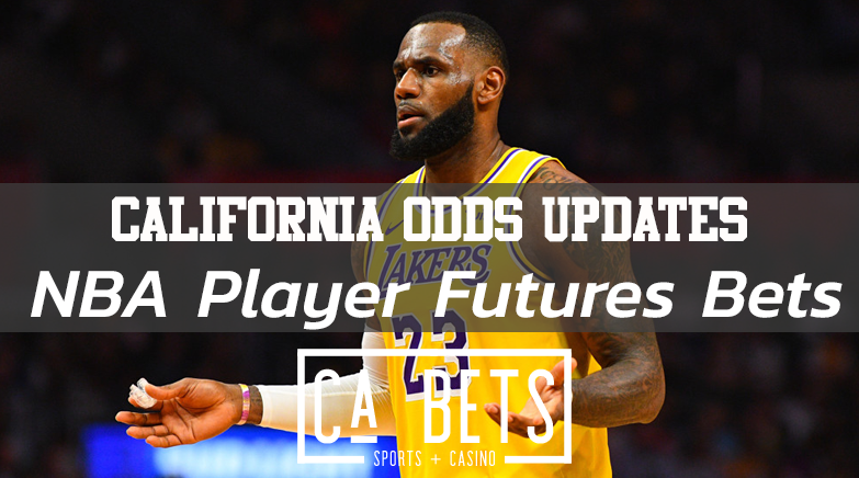 California NBA Player Future Bets Announced