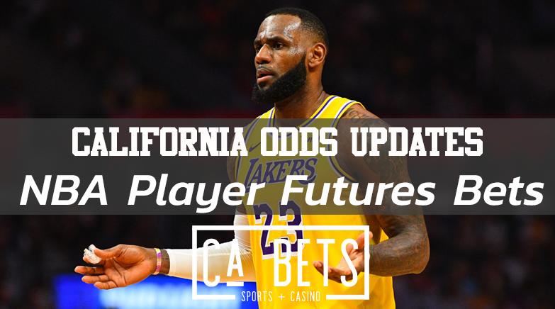 California NBA Player Future Bets Announced