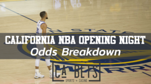 Cali NBA Opening Night Odds
