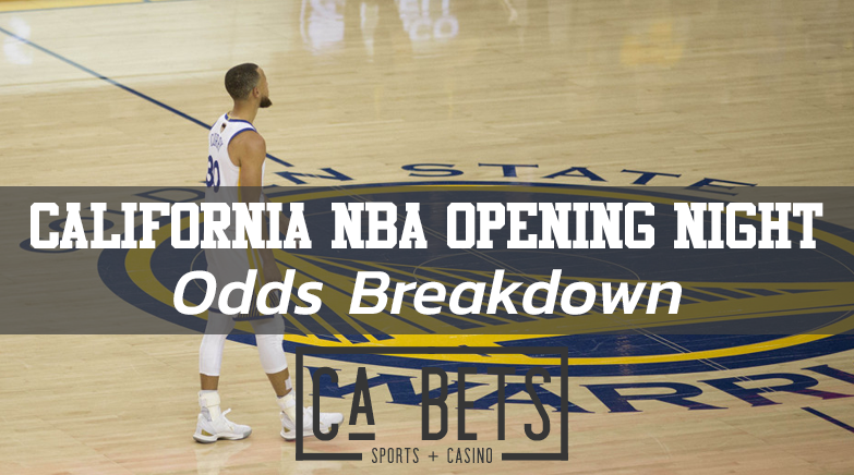 California NBA Opening Night Odds Breakdown
