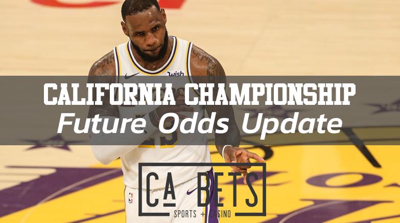 California Championship Future Odds Update