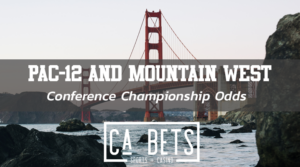 Pac-12 and MW CC odds and lines