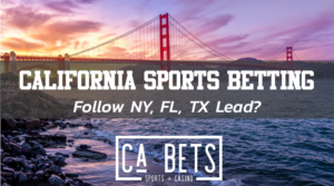 California Sports Betting coming soon