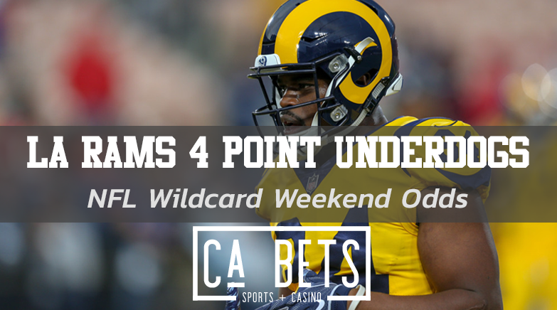 LA Rams Open 4 Point Underdogs Against Seattle This Wildcard Weekend