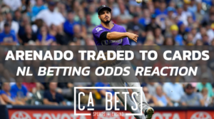 Anrenado odds reaction to trade