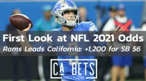 First Look at NFL 2021 Season LA Rams Odds