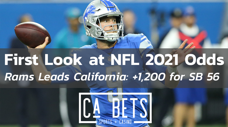 First Look at NFL 2021 Season Odds: LAR & SF Lead The Way