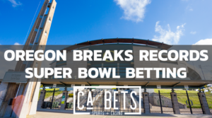 Oregon breaks record sports betting