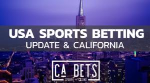 USA Sports betting update and California